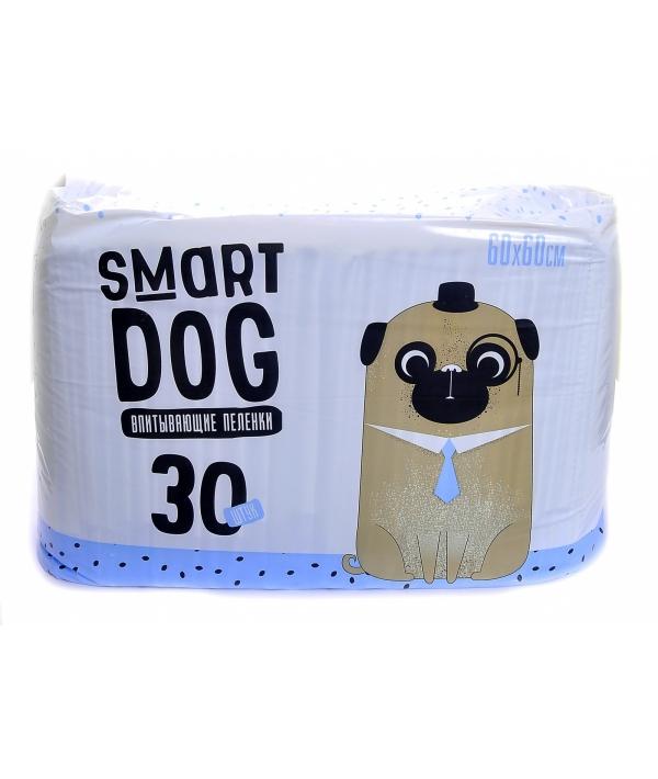 Впитывающие пеленки для собак 60*60, 30 шт