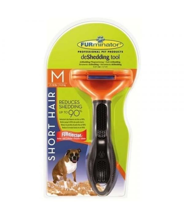 Фурминатор для собак средних короткошерстных пород, 7 см (SHORT HAIR MEDIUM DOG) 112396
