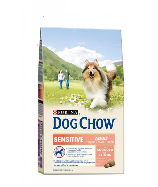 Для чувств. собак с лососем и рисом (Sensitive) 12308566