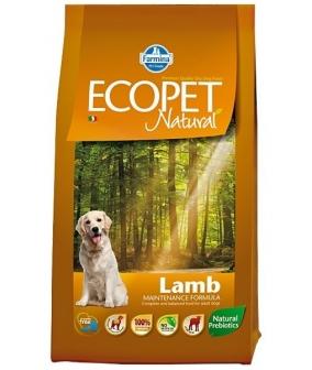 Ecopet Сухой корм для собак с ягненком 9017