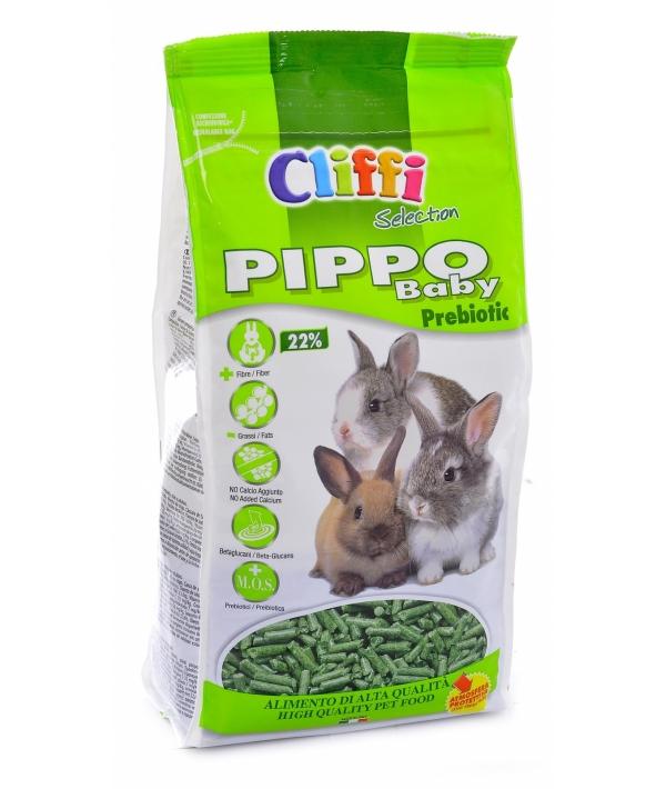 Корм для крольчат и молодых кроликов пребиотик (Pippo Baby Prebiotic SELECTION) PCRA041