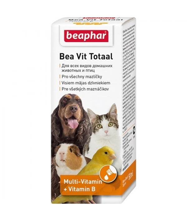 Витамины во время линьки д/кошек, собак, птиц и грызунов (Vit Total) 12620
