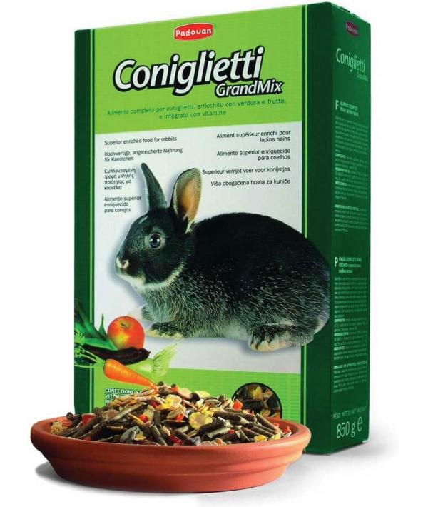 Корм для кроликов (Grandmix Coniglietti) PP00189