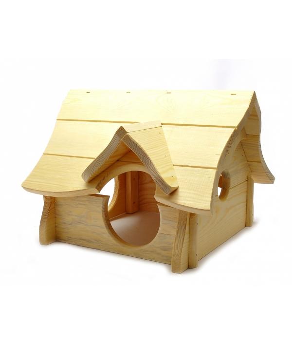 """Деревянный домик для грызунов """"Чарли"""", 39*36*27 см (Rodent house wood charly) 3449"""