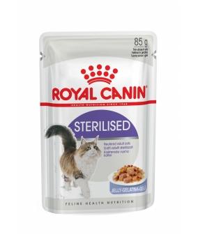 Кусочки в желе для кастрированных кошек 1–7 лет (Sterilized) 787001