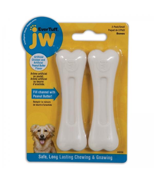 """Косточки для грызения """"Ароматный цыпленок"""", малые (JW Pet NYLON BONE 2PK SMALL) 46130"""