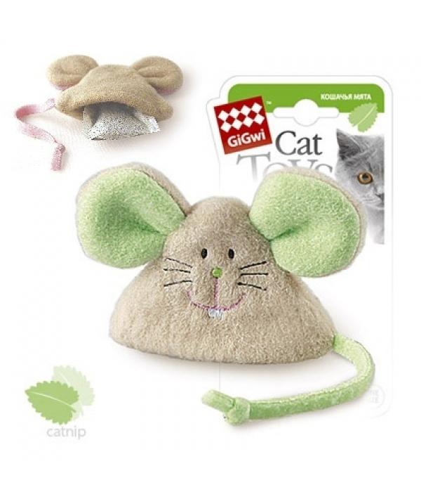 Игрушка для кошек Мышка с кошачьей мятой (75041)50116