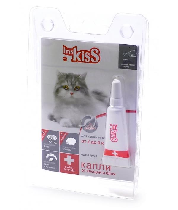 Капли от блох и клещей для кошек 2 – 4кг, 1пипетка MK05 – 00060