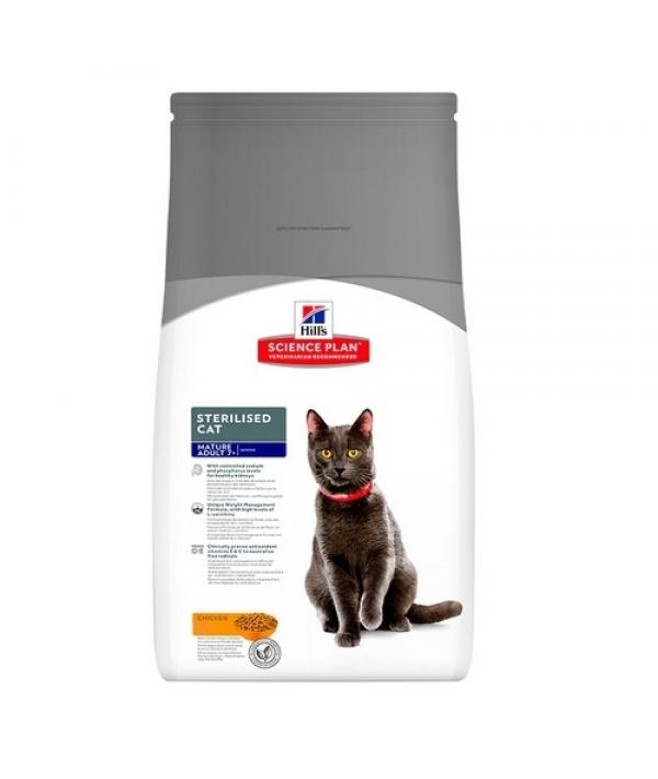Для пожилых кастрированных котов и кошек старше 7 лет (Mature Adult) 9349Y