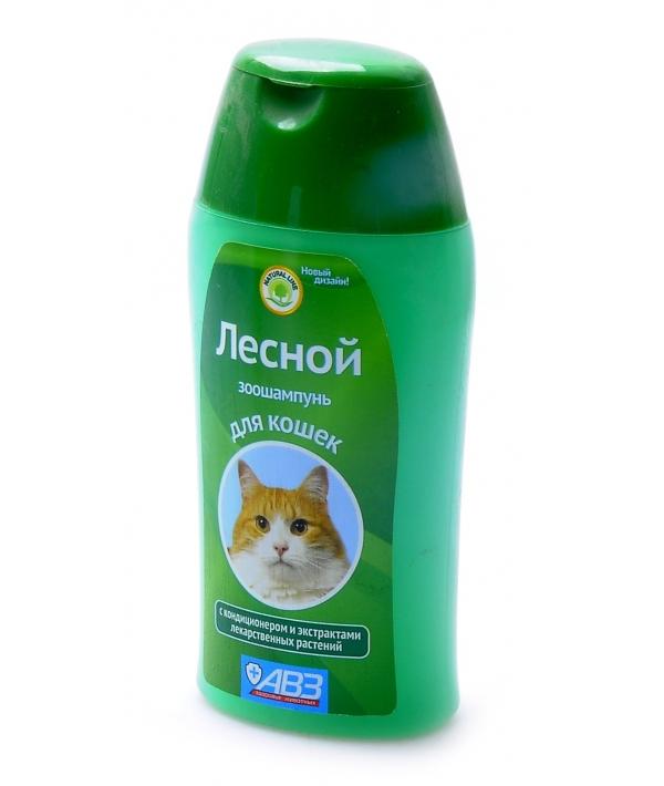Зоошампунь Лесной с кондиционером и экстрактами лекарственных растений для кошек