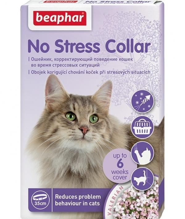 Успокаивающий ошейник для кошек, 35 см (No Stress Collar)