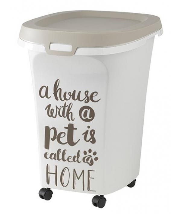 Контейнер для корма большой Pet Wisdom 38 л, серый (trendy story L Pet Wisdom) MOD – AF51 – 0330 – AD41