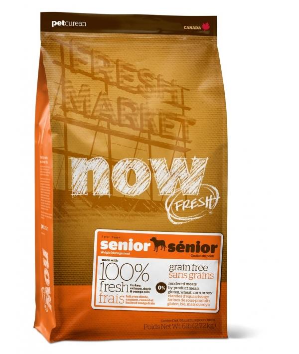 Контроль веса – беззерновой корм для Собак с Индейкой, Уткой и овощами (Fresh Senior Recipe Grain Free 24/10)