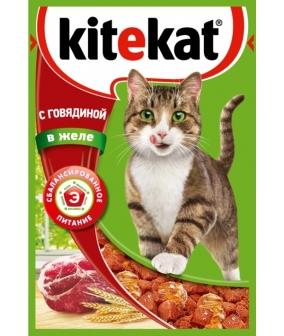 Паучи с говядиной в желе для кошек 10151299