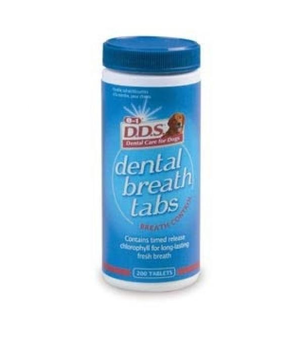 200т. для свежего дыхания малых и средних собак (Dental Breath tabs), ek1723