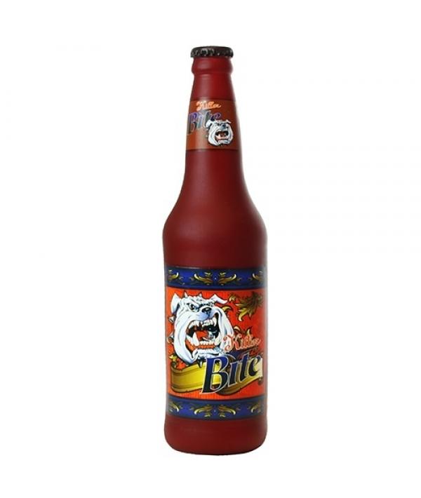 """Виниловая игрушка – пищалка для собак Бутылка пива """"Убийственный укус"""" (Beer Bottle Killer Bite) SS – BB – KB"""