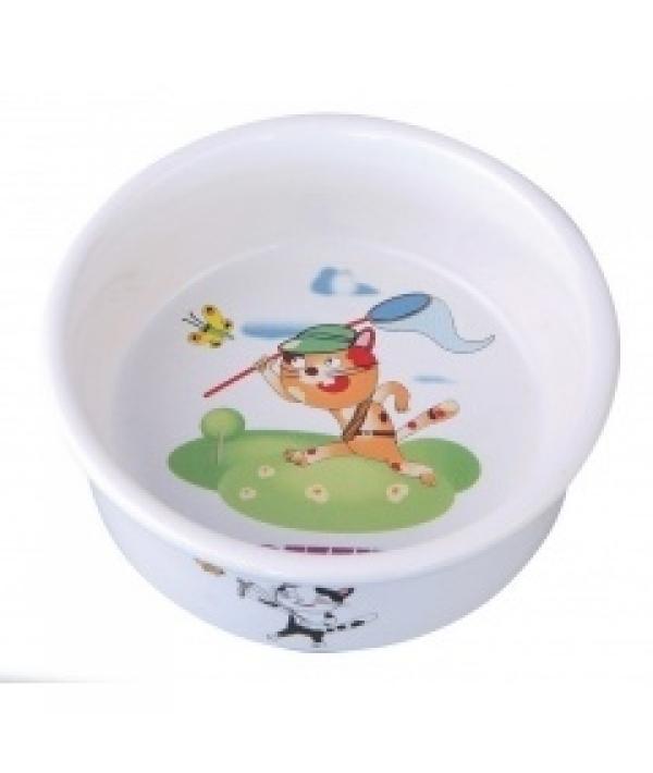 Миска керамическая для кошек, 150 мл 10*10*4 см (5637005)