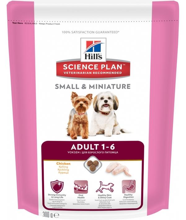 Для взрослых собак малых и миниатюрных пород с курицей (Adult Small&Miniature) 2822U