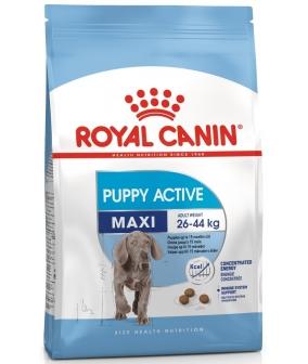 Для энергичных щенков крупных пород: 2–15 мес. (Maxi Puppy Active) 193150