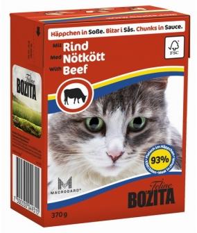 Кусочки в СОУСЕ для кошек с говядиной (Beef)