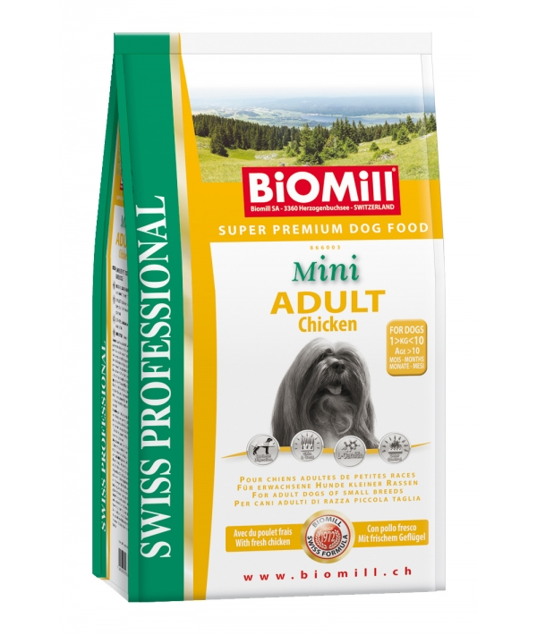 SWISS Для взрослых собак малых пород от 10месяцев(Adult Mini) (866001)