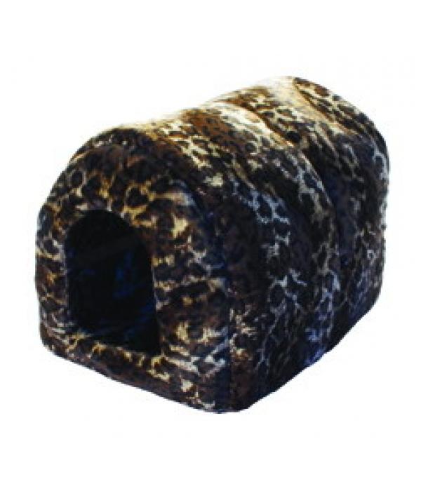 """Мягкий Домик """"Леопард"""" N1: 39*34*35см, флок+нейлон (9681)"""