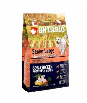 Для пожилых собак крупных пород с курицей и картофелем (Ontario Senior Large Chicken & Potatoes 12kg) 214 – 11438