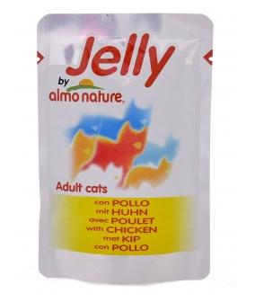 Паучи Курица в Желе для кошек (Jelly Cat Chicken) 5057