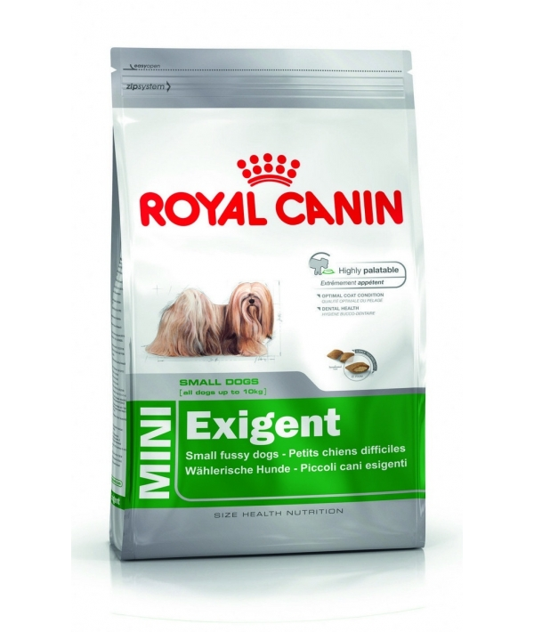 Для собак–приверед малых пород до 10кг (Mini Exigent) 313020