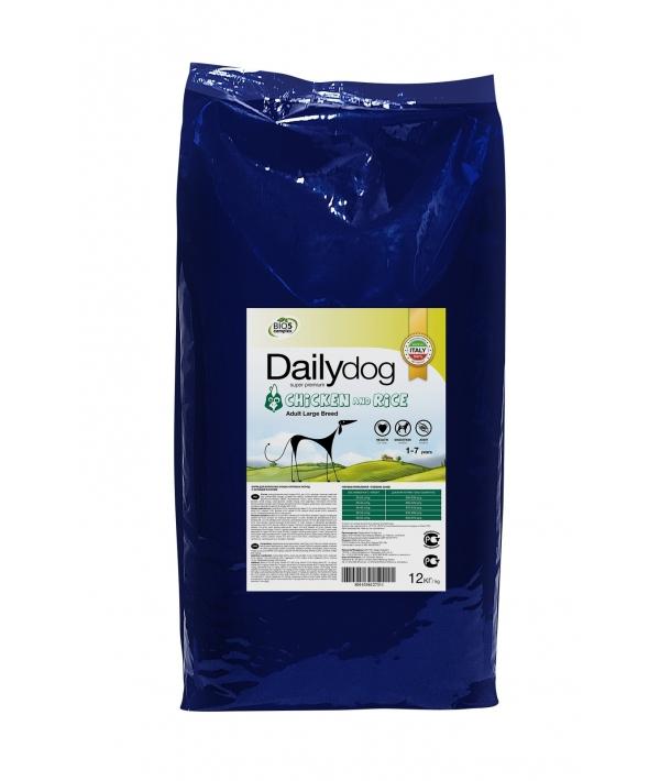Для взрослых собак крупных пород с курицей и рисом (ADULT LARGE BREED Chicken and Rice) 244ДД