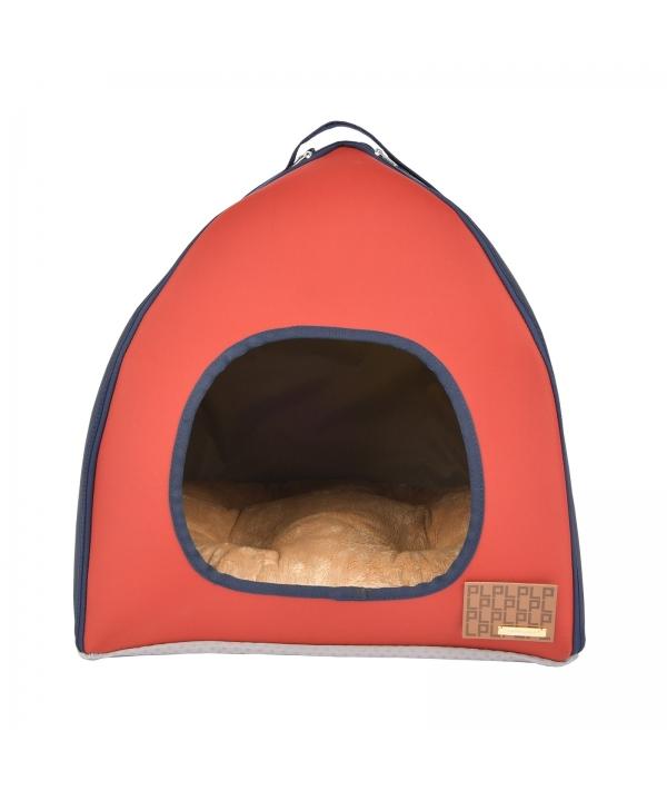 """Домик – палатка """"Берг"""", красный (40x40x43) (BERG HOUSE/RED/FR) PLRD – AU9339 – RD – FR"""