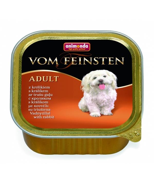 Консервы для собак с кроликом (Vom Feinsten Forest) 82661