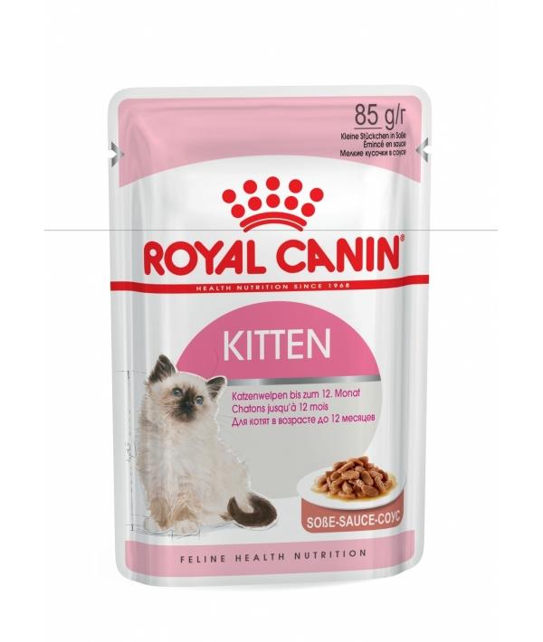 Кусочки в соусе для котят: 4–12 мес. (Kitten Instinctive) 481001/481101