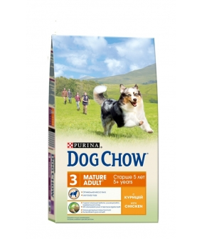 Для собак старшего возраста 6 – 8лет с курицей(Mature) 12308569