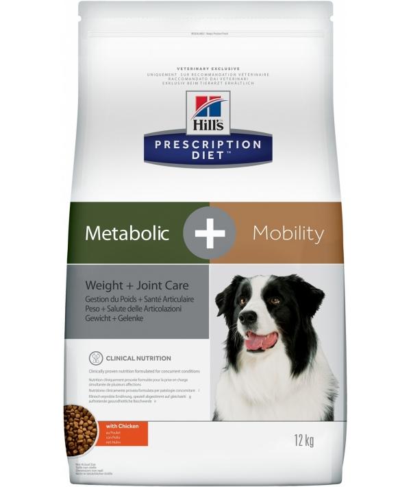 Сухой корм для взрослых собак для коррекции веса и лечение суставов (Metabolic+Mobility) (10039N)