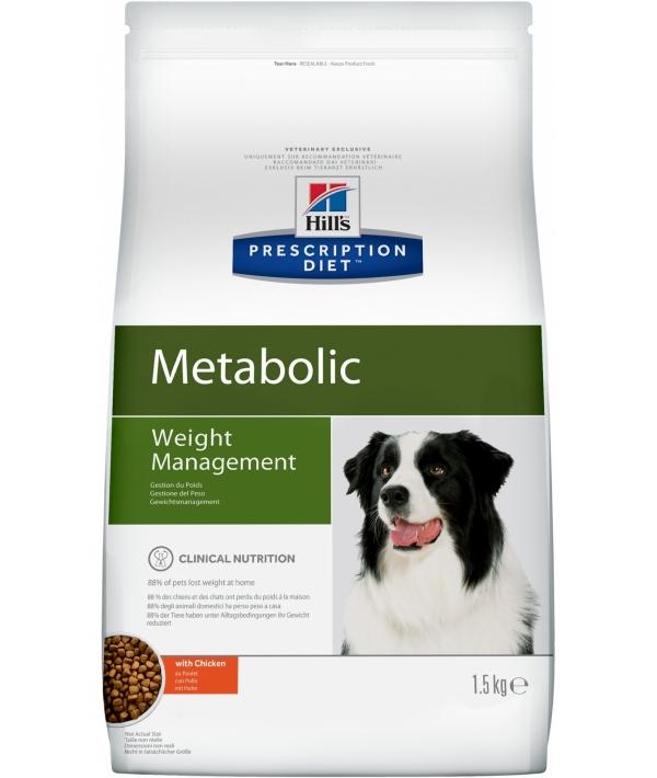 Metabolic для Собак – Улучшение метаболизма (коррекция веса) 2097U