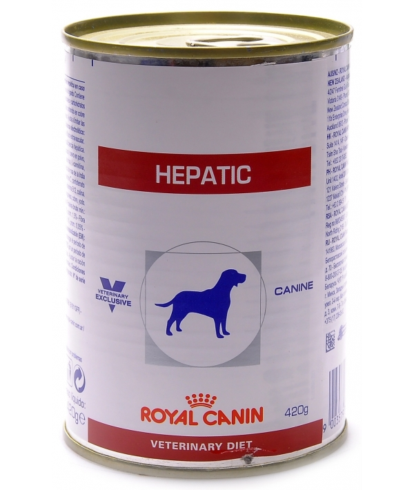 Консервы для собак при заболевании печени (Hepatic) 663004