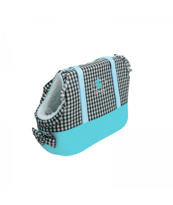 Сумка – переноска для собак до 3,5 кг, голубой (WITTY/BABY BLUE/FR) NAMD – AB665 – BB – FR