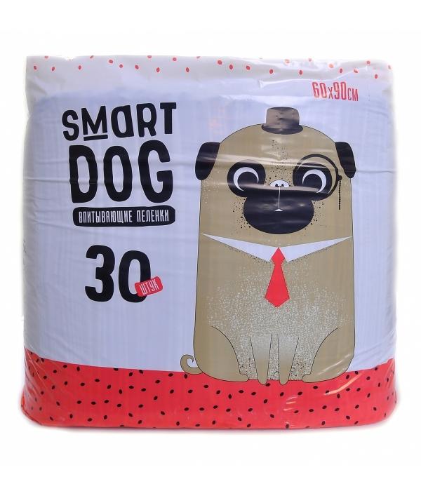 Впитывающие пеленки для собак 60*90, 30 шт