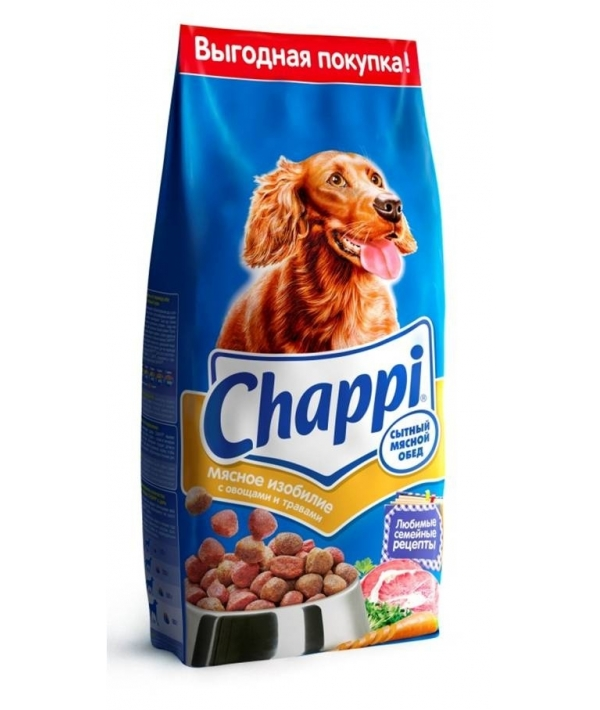 Сухой корм для собак мясное изобилие сытный мясной обед 7150