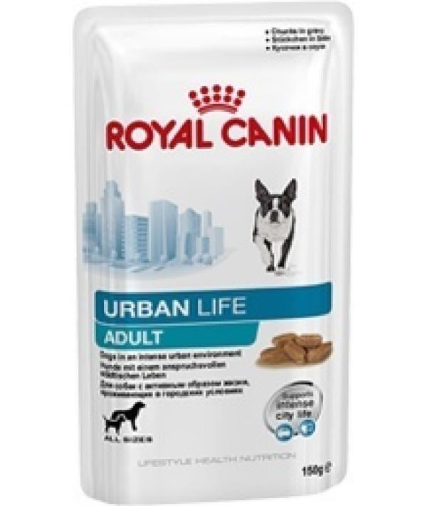 Паучи для собак, живущих в городской среде (Urban life Adult) 792001