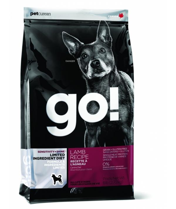 Беззерновой для щенков и собак с ягненком для чувст. пищеварения (Sensitivity + Shine LID Lamb Dog Recipe, Grain Free, Potato Free) 24 – 12