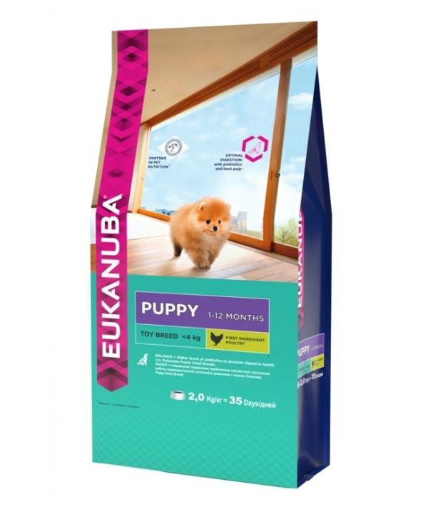Для щенков миниатюрных пород с курицей (Puppy Toy Breed) 10135708