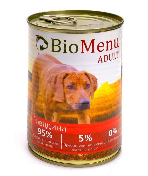 Консервы ддя собак с говядиной (ADULT) 45158