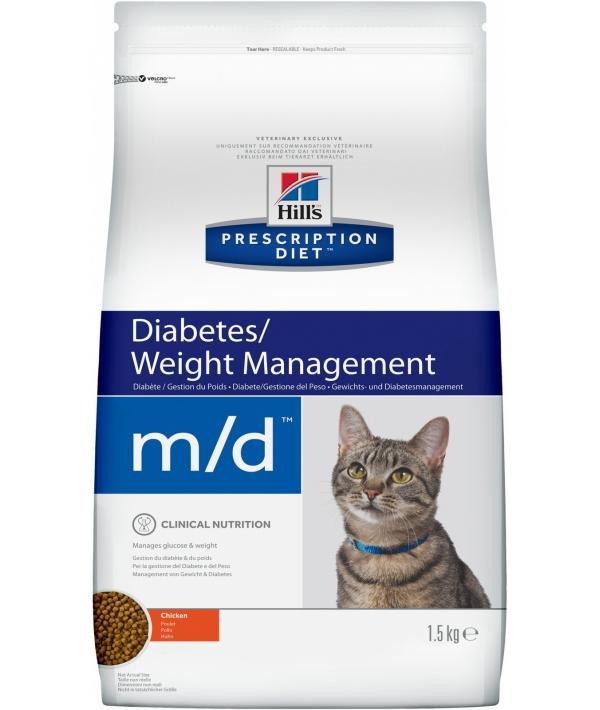 M/d для кошек лечение сахарного диабета 8685U