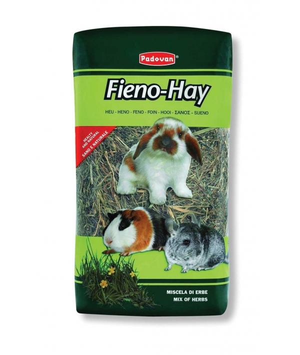 """Сено """"Луговые травы"""" для грызунов и кроликов, 1кг/20л (Fieno Hay) PP00084"""