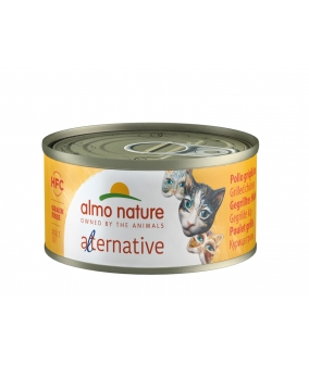 "Консервы для кошек ""Курица гриль"" (HFC ALMO NATURE ALTERNATIVE CATS CHICKEN GRILLED) 5450H"