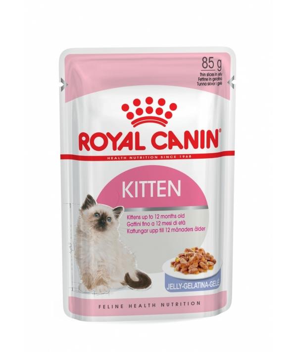 Кусочки в желе для котят: 4–12 мес. (Kitten Instinctive) 783001/ 783101