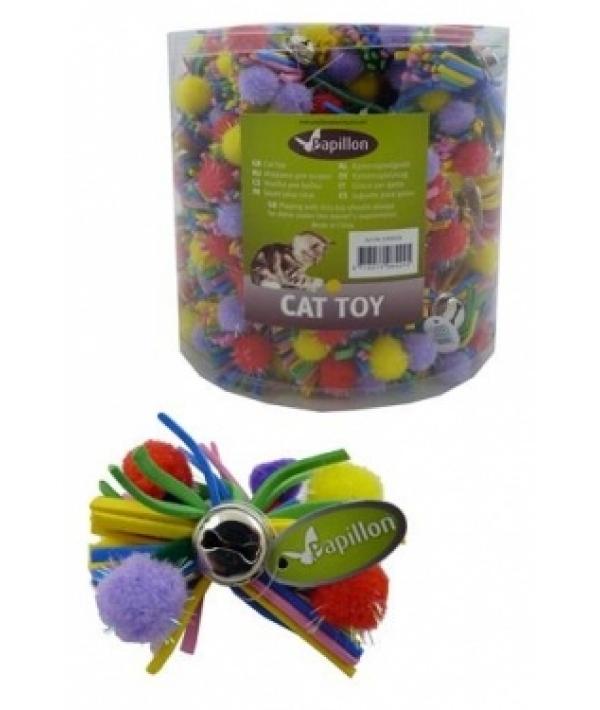 """Игрушка """"Разноцветный бант"""" с бубенчиком, 7см (Colourfull bow with bell) 240028"""