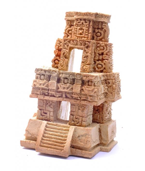 """Декор для аквариумов """"Замок инков"""", 12*10,5*18 см (Inca temple aqua decor) 44798"""